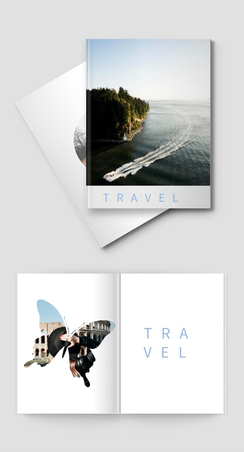 旅行出游风景照片书